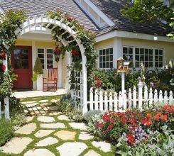 Các mẫu cổng sân vườn đẹp – Hướng dẫn thiết kế cổng sân vườn đẹp