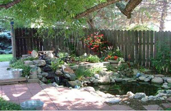 Tiểu cảnh hồ đẹp – Hướng dẫn thiết kế tiểu cảnh hồ trong thiết kế sân vườn