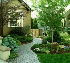 Tiểu cảnh sân vườn phối màu – Hướng dẫn phối màu các cảnh nhỏ trong sân vườn