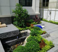 Tiểu cảnh sân vườn biệt thự – Tăng tính thẩm mỹ và giá trị cho căn nhà