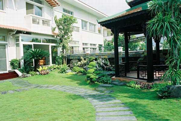 Các mẫu thiết kế sân vườn - cover