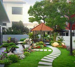 Thiết kế sân vườn sau nhà – Mẫu thiết kế sân vườn sau nhà đẹp nhất