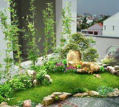 Tiểu cảnh sân vườn hiện đại – Gợi ý các mẫu tiểu cảnh sân vườn hiện đại cho ngôi nhà
