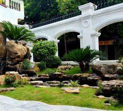 Tiểu cảnh non bộ cho sân vườn nhà chú Nam, Tây Mỗ, Hà Nội
