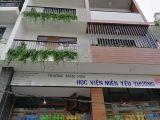 Thiết kế ban công xanh cho trường mầm non Học Viện Miền Yêu Thương