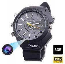 Camera ngụy trang đồng hồ đeo tay hiện đại, ghi hình giấu kín