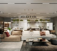 One of the best 3d rendering project – Ms. Ashley Private House